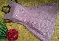 Платье из парчи 1751 пудра  44р