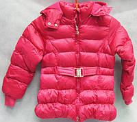 Куртка детская зимняя для 3-8-лет красная