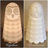 Ночник светильник настольная лампа Сова