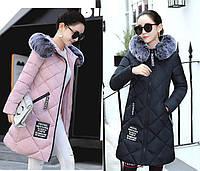 Молодежный стиль стеганная куртка пальто пуховик. Отличное качество. Хорошая доступная цена. Код: КГ1902