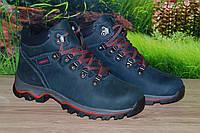Ботинки подросток кожа М202 ecco размеры 35 36 37