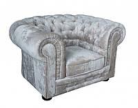 """Кожаное кресло в английском стиле """"Chester"""" (Честер). (122 см)"""