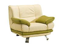 Стильное кожаное кресло ALASKA III (113 см)