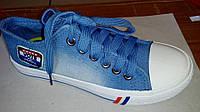 Кеды подростковые Jeans Style размеры 35-40