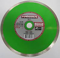 Алмазный диск, резать гранит, керамогранит, плитку Haisser 1A1R GRANITE 250x2,0x1,5x10x32/25.4 станок с водой