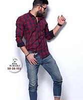 Рубашка мужская в клетку, S-XXXL размеры, фото 1