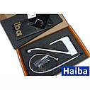 Смеситель на умывальник Haiba Mars 004 WHITE 15 см, фото 3