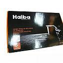 Смеситель на кухню Haiba Hansberg 777 BLACK на гайке, фото 7
