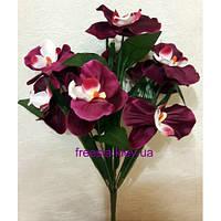 Искусственные цветы Орхидея натуральная 9-ка