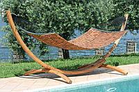Гамак Messina деревянный каркас 330x145x150 с гамаком А3000 - 380х121