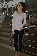 Молодежная кофта  со шнуровкой Турция, фото 1