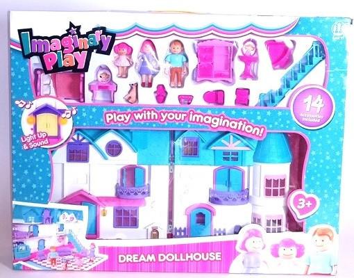 """Игровой набор для девочки """"Кукольный дом"""""""