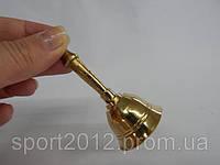 Сувенир Колокольчик с ручкой (Бронза)