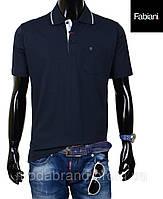 Модная мужская футболка Fabiani-4202 темносиняя