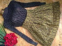 Брендовая юбка 1373  MIU MIU 42-48р утягивающая