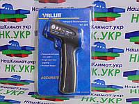 Термометр (пирометр) инфокрасный + лазер VALUE VIT 300