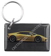 """Заготовка ключа для домофона RFID 5577, """"жёлтый автомобиль"""", перезаписываемая"""