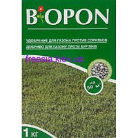 BIOPON удобрение для газона против сорняков 1 кг