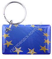 """Заготовка ключа для домофона RFID 5577, """"Флаг Евросоюза"""", перезаписываемая"""
