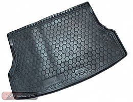 Коврик в багажник для mitsubishi outlander xl (2007>) (без сабвуфера)