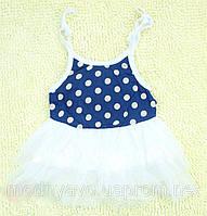 Детское летнее платье -туника для девочки
