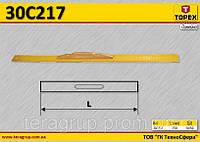 Линейка стальная с ручкой,  TOPEX  30C217