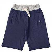 Бриджи из хлопка для мальчика Kids Couture 8-060 темно-синие 140