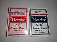 """Карты для игры в спортивный покер """"Brother"""" 54шт"""