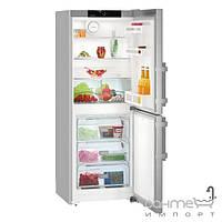 Холодильники и морозильные камеры Liebherr Двухкамерный холодильник с нижней морозилкой Liebherr CNef 3115 Comfort NoFrost (А++) серебристый