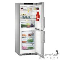 Холодильники и морозильные камеры Liebherr Двухкамерный холодильник с нижней морозилкой Liebherr CNPes 3758 Premium NoFrost (А+++) серебристый