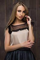 Блузки короткий рукав