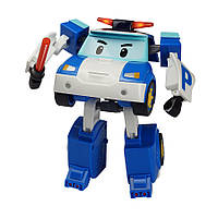 Трансформер робокар Поли с подсветкой и аксессуарами - Robocar Poli, 13 СМ, Silverlit