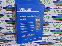 Мультиметр цифровой VDM-151 Value