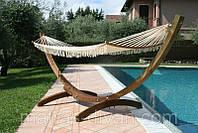 Гамак Venezia деревянный каркас 310x120x130 с гамаком А1152 - 340x100