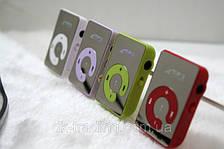Зеркальный MP3 плеер Клипса + Наушники +USB переходник