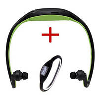 Наушники Sport MP3 плеер + FМ + Sport часы в подарок