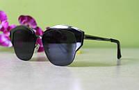 Черные солнцезащитные очки Dior Mirrored