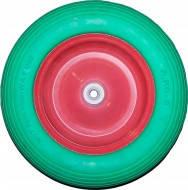 Колесо для тачки полиуритановое 370х16х85мм(3.5х8)