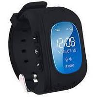 Детские смарт-часы Q50 с GPS трекером Черный