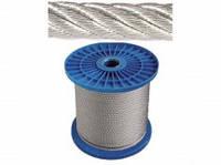 Трос стальной. оцинкованный ф2.0мм (200м/бухта)