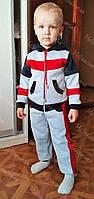 Спортивный костюм для мальчика, теплый с начесом