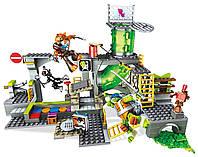 """Конструктор """"Подземное логово"""" Черепашки-ниндзя  от Mega Bloks Teenage  Mutant Ninja Turtles (342 дет.)"""