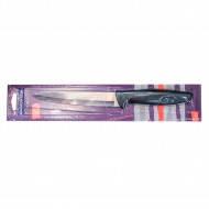 Нож кухонный Tramontina PLENUS 15.2cм черн.ручка пласт.. Оригинал(разделочный)(12шт/уп)