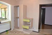Шкаф в гостиную со стенкой под ТВ, фото 1