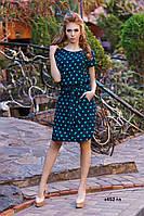 Платье горох с452 гл