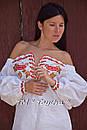 Короткое платье туника  вышитая лен, вышиванка,стиль бохо шик , Bohemian, этно,туника в Бохо-стиле, фото 3