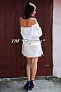 Короткое платье туника  вышитая лен, вышиванка,стиль бохо шик , Bohemian, этно,туника в Бохо-стиле, фото 5