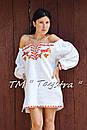 Короткое платье туника  вышитая лен, вышиванка,стиль бохо шик , Bohemian, этно,туника в Бохо-стиле, фото 8