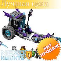 """Конструктор лего нексо Bela 10591 Nexo Knight (аналог Lego 70349) """"Мобильная тюрьма Руины"""" 224 дет"""