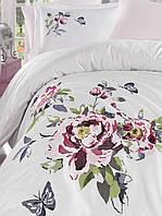 Комплект белья сатин с вышивкой Dantela Vita Perla